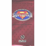 Skybox Superman Man of Steel Platinum Series Trading Cards Pack