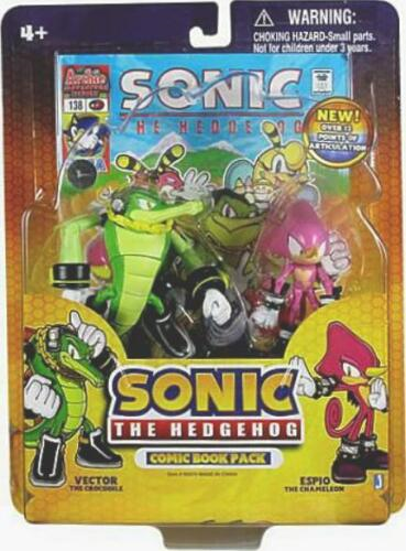 Sonic The Hedgehog Vector and Espio Comic Book Pack
