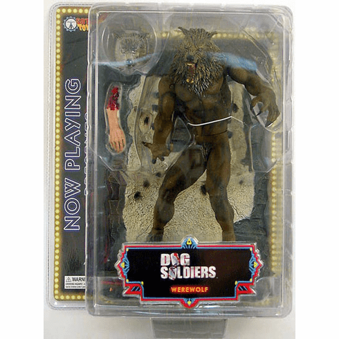 SOTA Toys Now Playing Presents Dog Soldiers Werewolf Figure