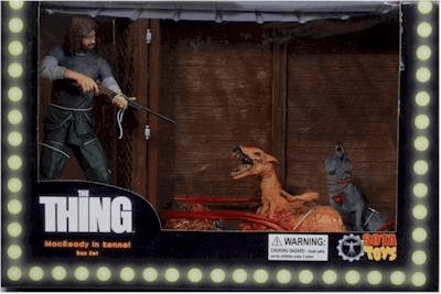 SOTA Toys Now Playing Presents The Thing MacReady in Kennel Box Set