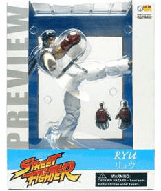 SOTA Toys Street Fighter Preview Ryu Figure