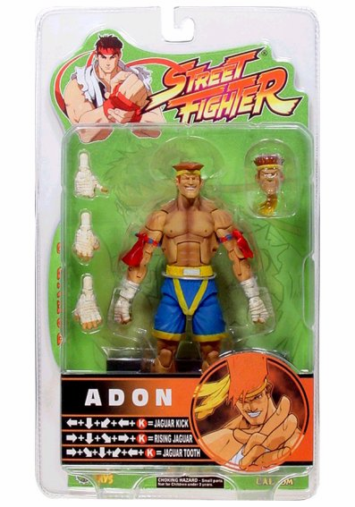 SOTA Toys Street Fighter Round 3 Adon Action Figure