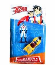 Speed Racer Classic Racer X with Shooting Star Diecast Set