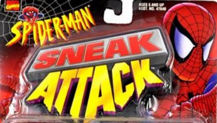 Spider-Man Sneak Attack Action Figures