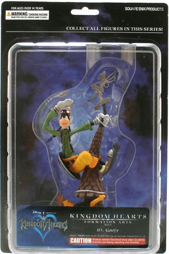 Square-Enix Disney Kingdom Hearts Goofy Figure