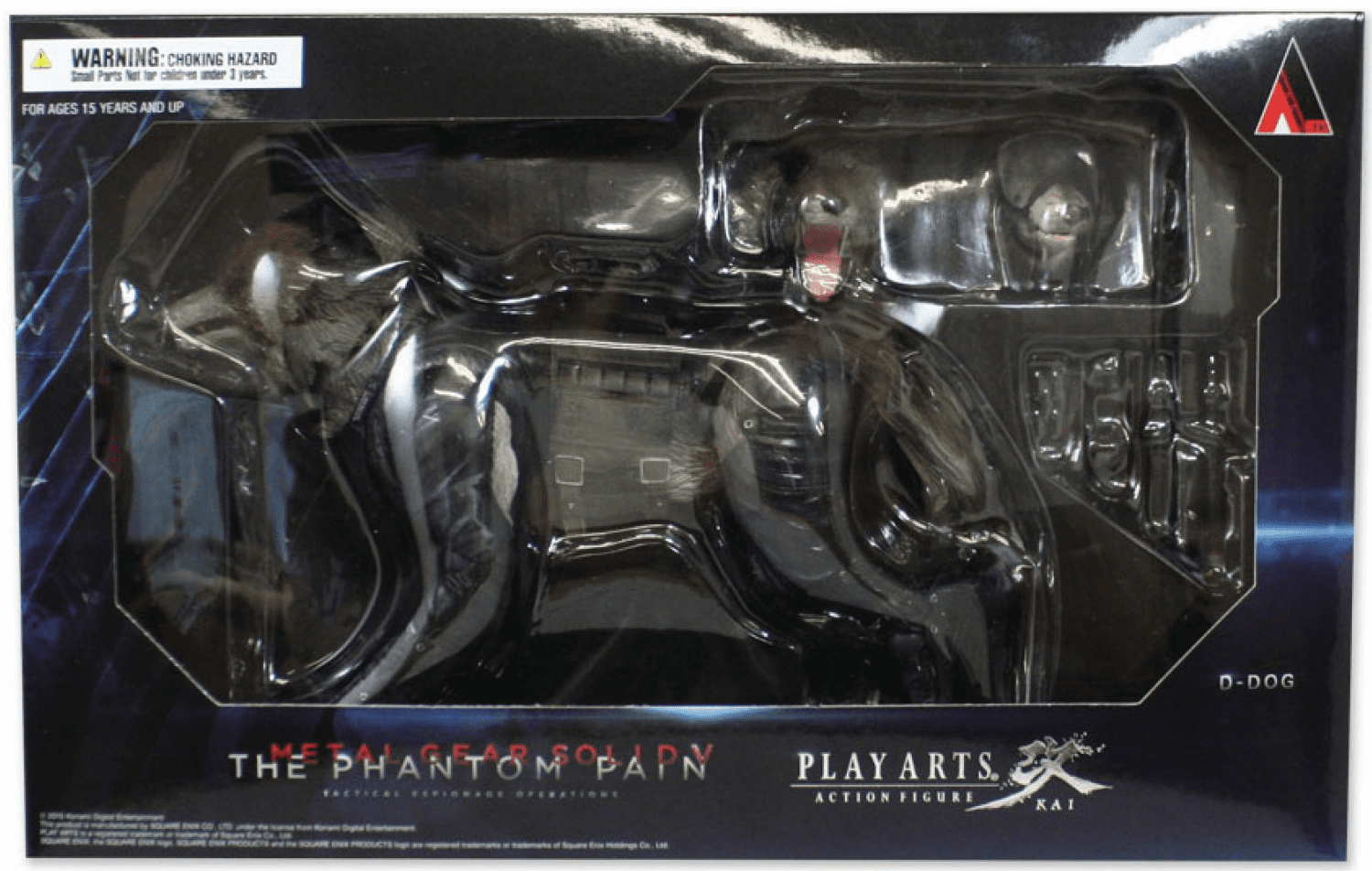Square Enix Play Arts Kai Metal Gear Solid V D-Dog Figure