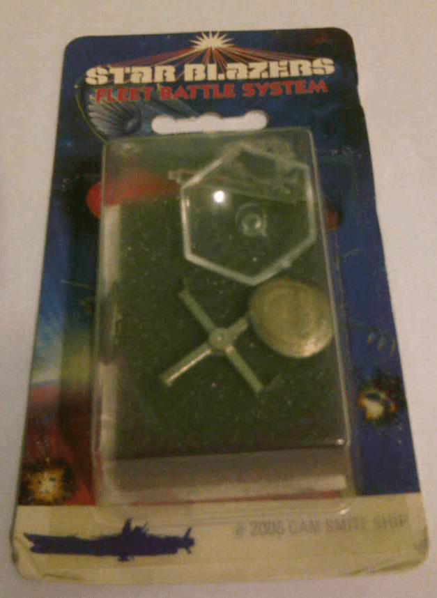 Star Blazers Fleet Battle System Gamilon Smite Ship Miniature