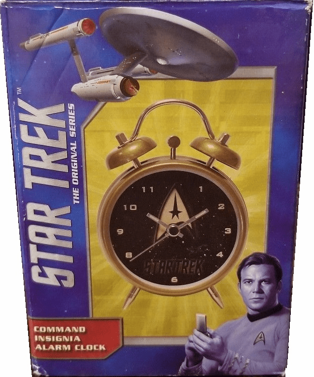 Star Trek Command Insignia Alarm Clock