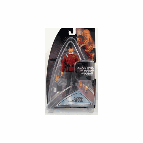 Star Trek II The Wrath of Khan Captain Spock Action Figure