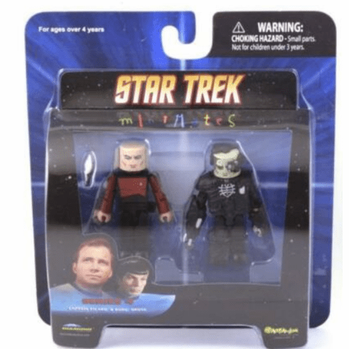 Star Trek Minimates Captain Picard & Borg Drone Set
