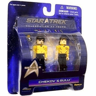 Star Trek Minimates Chekov and Sulu Set
