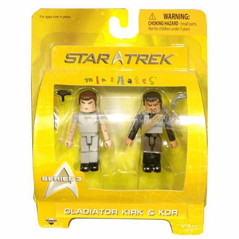 Star Trek Minimates Gladiator Kirk & Kor Set