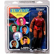 Star Trek Retro Cloth Mego Klingon Action Figure