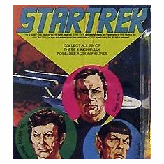 Star Trek Retro Mego Action Figures