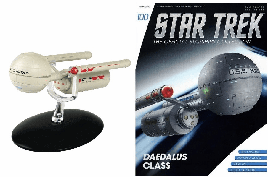 Star Trek Ship Collection Magazine 100 Daedalus Class