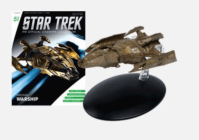 Star Trek Ship Collection Magazine 51 Hirogen Warship