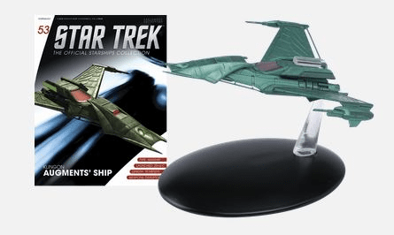 Star Trek Ship Collection Magazine 53 Klingon Augment's Ship