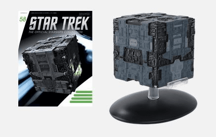 Star Trek Ship Collection Magazine 58 Borg Tactical Cube