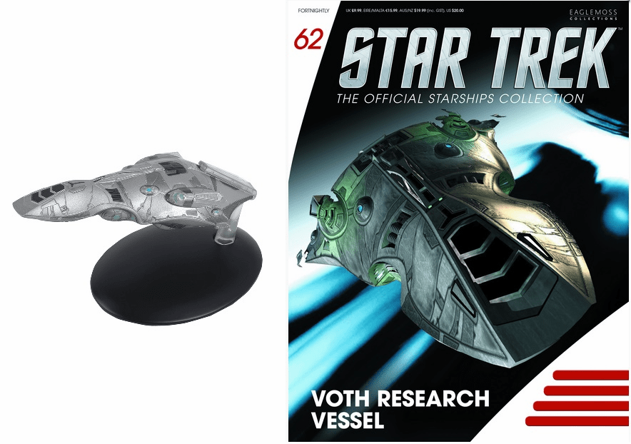 Star Trek Ship Collection Magazine 62 Voth Research Vessel