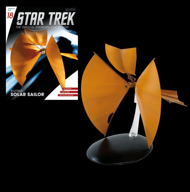 Star Trek Ship Collection Magazine Bajoran Solar Sail