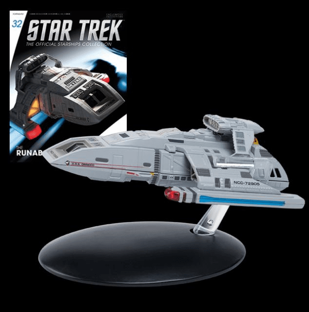 Star Trek Ship Collection Magazine Danube Class Runabout Starship
