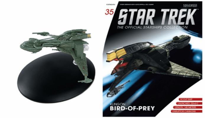 Star Trek Ship Collection Magazine Early Klingon Bird of Prey