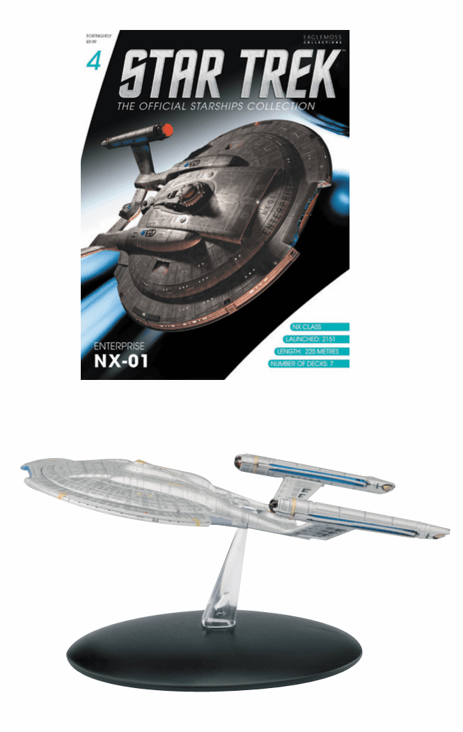 Star Trek Ship Collection Magazine Enterprise NX-01