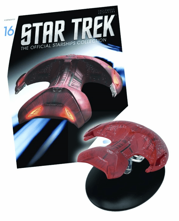Star Trek Ship Collection Magazine Ferengi Marauder