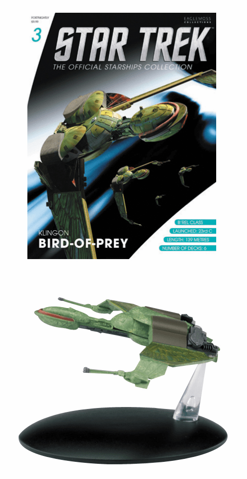 Star Trek Ship Collection Magazine Klingon Bird of Prey