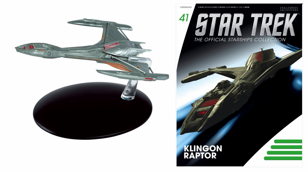 Star Trek Ship Collection Magazine Klingon Raptor