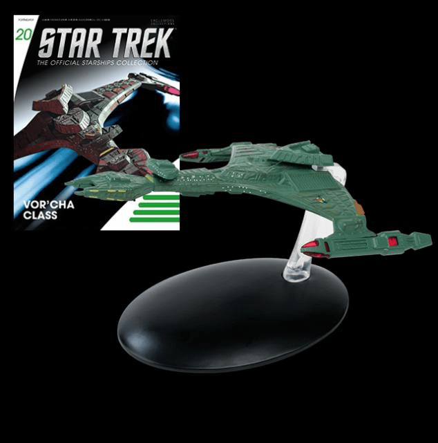 Star Trek Ship Collection Magazine Klingon Vor'cha Class