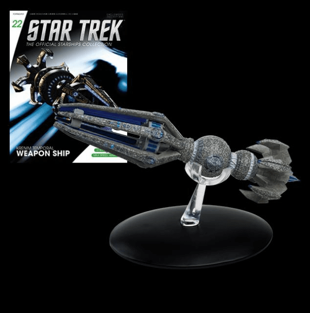 Star Trek Ship Collection Magazine Krenim Temporal Weapon Ship