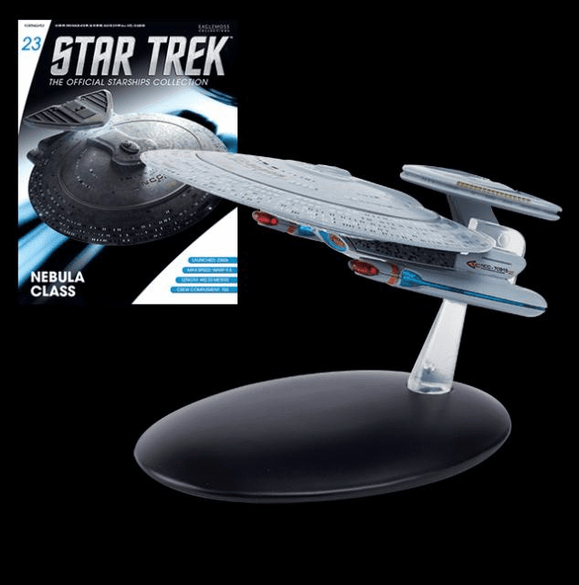Star Trek Ship Collection Magazine Nebula Class