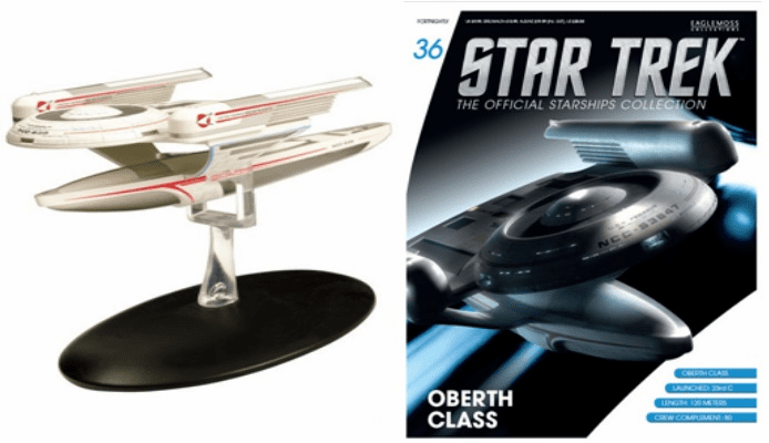 Star Trek Ship Collection Magazine Oberth Class Starship