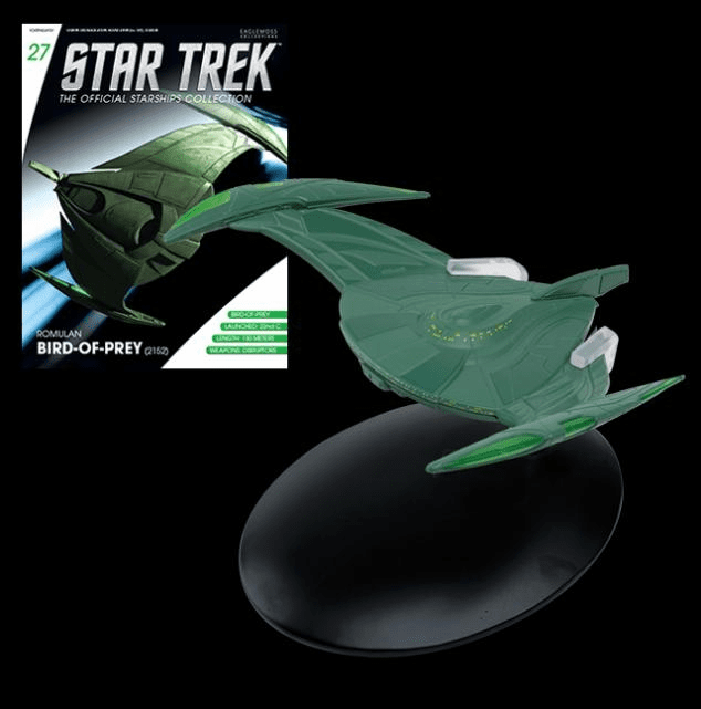 Star Trek Ship Collection Magazine Romulan Bird of Prey Starship