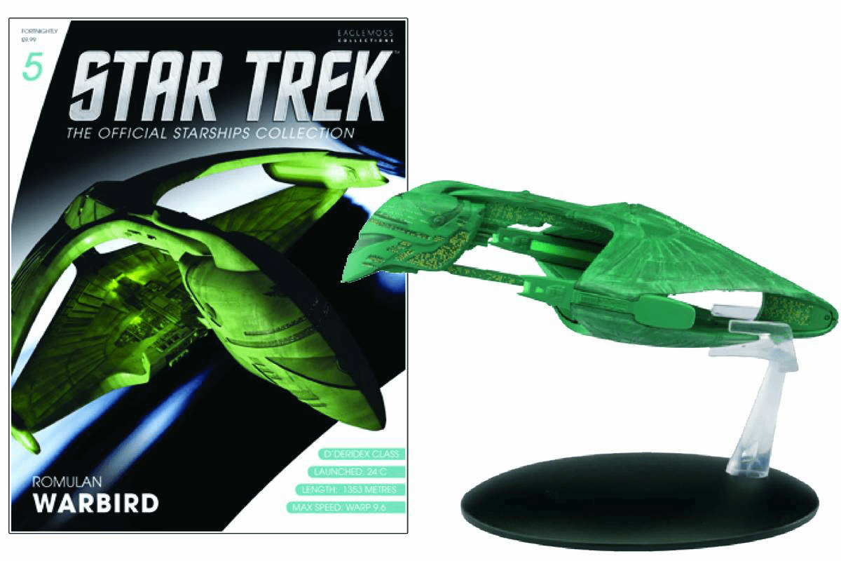 Star Trek Ship Collection Magazine Romulan Warbird