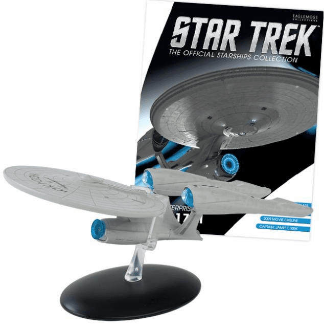 Star Trek Ship Collection Magazine Special 2009 Movie Enterprise