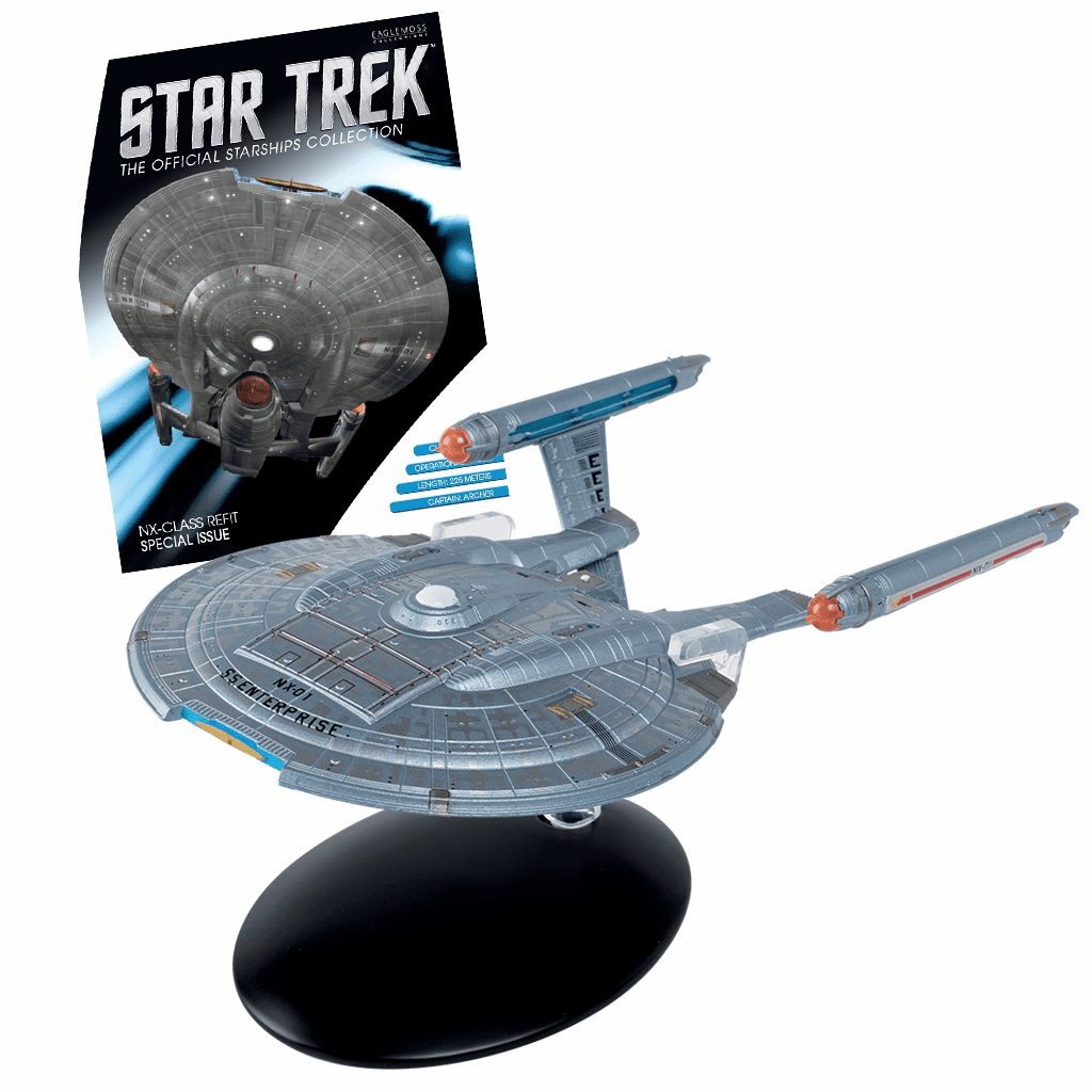 Star Trek Ship Collection Magazine Special S.S. Enterprise NX-01 Refit