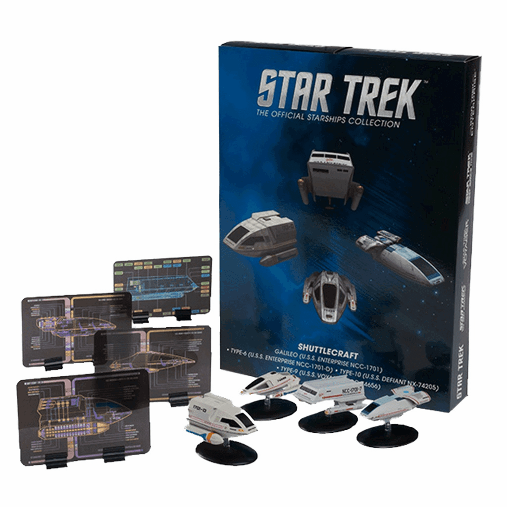 Star Trek Ship Collection Magazine Special Shuttlecraft Set