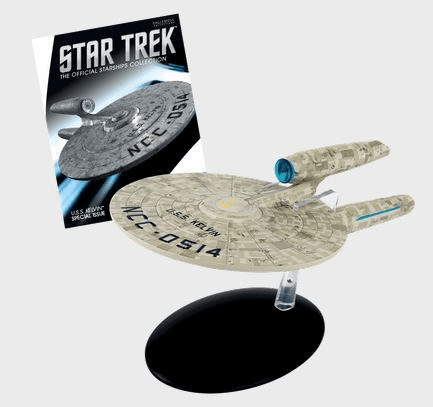 Star Trek Ship Collection Magazine Special U.S.S. Kelvin