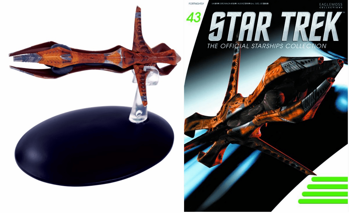 Star Trek Ship Collection Magazine Species 8472 Bioship