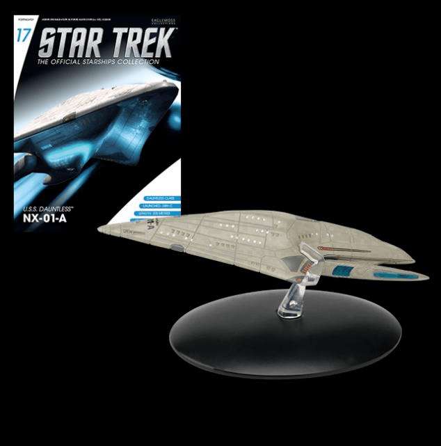 Star Trek Ship Collection Magazine USS Dauntless NX-01-A