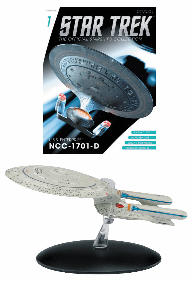 Star Trek Ship Collection Magazine USS Enterprise NCC 1701-D