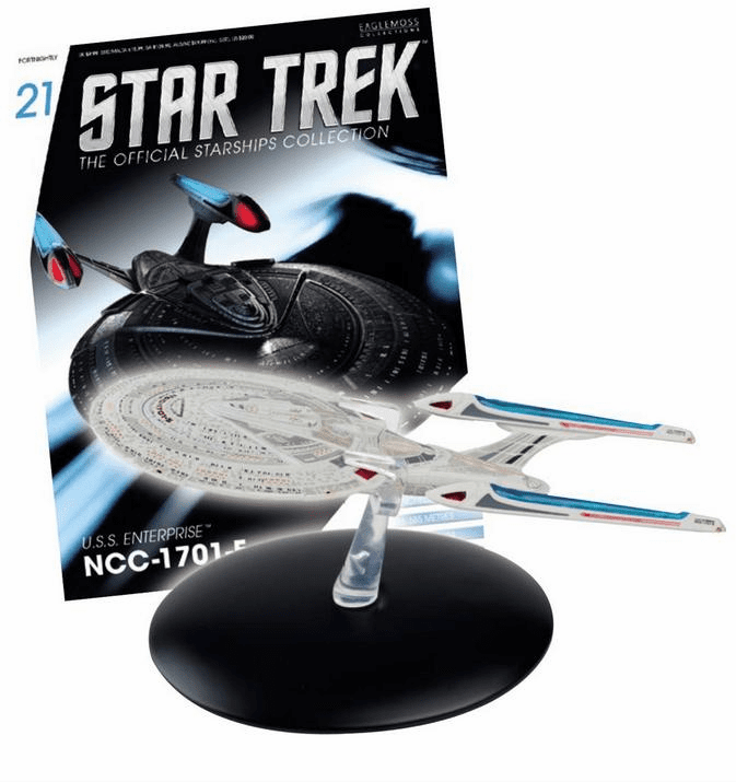 Star Trek Ship Collection Magazine USS Enterprise NCC-1701-E
