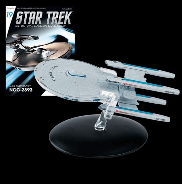 Star Trek Ship Collection Magazine USS Stargazer NCC-2893