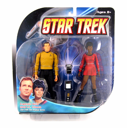Star Trek the Original Series Kirk & Uhura Figure Set
