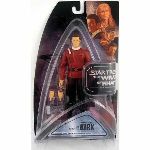Star Trek Wrath of Khan Admiral Kirk Action Figure