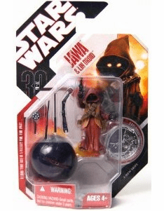 Star Wars 30th Anniversary #19 Jawa & LIN Droid Figure