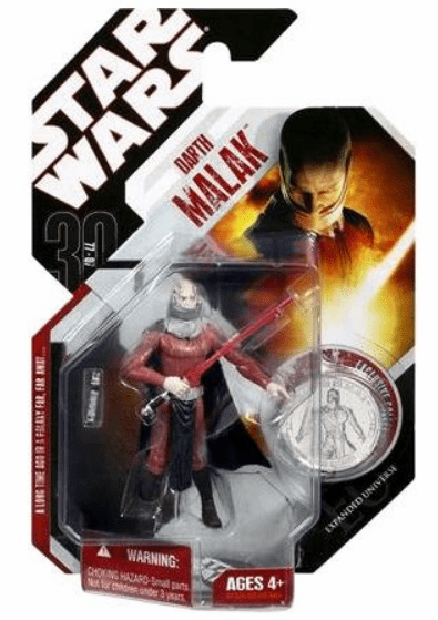 Star Wars 30th Anniversary #35 Darth Malak Action Figure