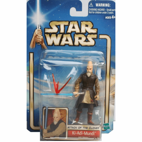 Star Wars Attack of the Clones Ki-Adi-Mundi Figure